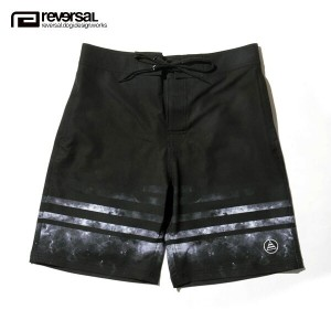 リバーサル REVERSAL 正規販売店 メンズ 水着 ETERNITY SKY BOARD SHORTS sf16ss013 SURF BLACKxBLACK