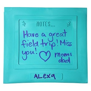 Reusable Lunch Bag for Sandwiches or Snacks with Personalized Notes, School Lunch Bag, Eco-Friendly...