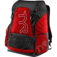 TYR(ティア) プールバッグ ALLIANCE 45L BACKPACK RD/BK(640) LATBP45 レッドブラック FREE