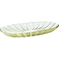 Guzzini Grace Serving Tray、15-inches by 7???1?/ 2インチby 1-inches オレンジ 27970039
