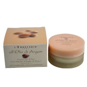 Olio di Argan (Argan Oil) Face Cream by L'Erbolario Lodi by L'Erbolario Lodi [並行輸入品]