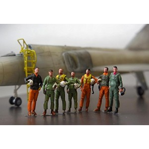 1/144 NASA 60's~70'sパイロットセットF-106B Mercury 7 Figure set