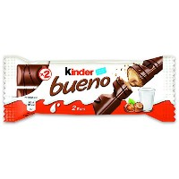 Ferrero Kinder Bueno Wafer Cookies, 1.5 Ounce (43 g) (Pack of 30) by Ferrero