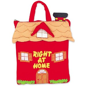 Right At Home Quiet Book for Toddlers By Pockets of Learning by Pockets Of Learning