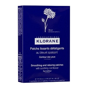 Klorane Smoothing And Relaxing Patches 7 X 2patches [並行輸入品]