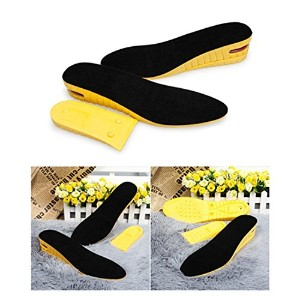 Kalevelテつョ 5cm 2 Inches Height Increase Insoles Breathable Height Increasing Insoles Elevator...