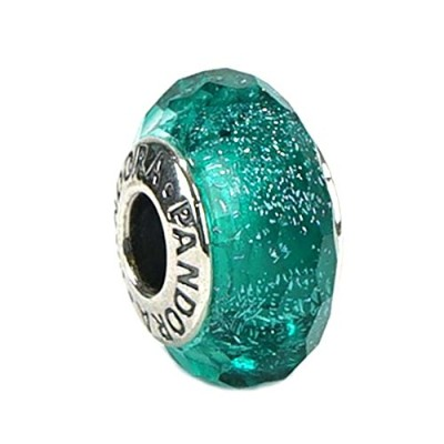 PANDORA(パンドラ) チャーム MURANO CHARM MULTI 791655 TEAL SHIMMER GLASS [並行輸入品]