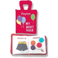 My Quiet Book, Fabric Activity Book for Children By Pockets of Learning- Personalized by Pockets Of...