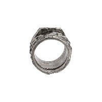 Tobias Wistisen チェーンディテール リング - Multiple Molded Chain Ring Arg: 20 Grs