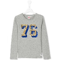 American Outfitters Kids スパンコール ロングTシャツ - グレー