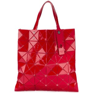 Bao Bao Issey Miyake Lucent One Tone トートバッグ - レッド