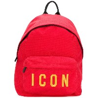 Dsquared2 Icon バックパック - レッド
