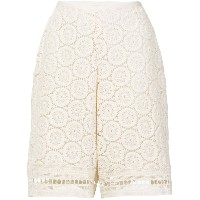 See By Chloé crochet shorts - ホワイト