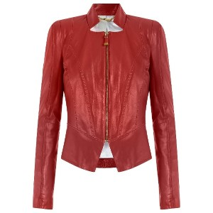 Tufi Duek leather jacket - レッド