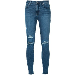 Nobody Denim Cult Skinny Ankle Intrigued ジーンズ - ブルー