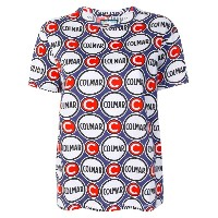 Au Jour Le Jour For Colmar ロゴ柄 Tシャツ - ブルー
