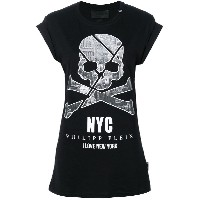 Philipp Plein New York Tシャツ - ブラック