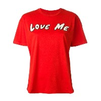Sandrine Rose Love Me Tシャツ - レッド