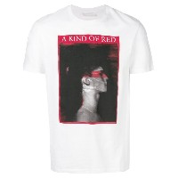 Neil Barrett A Kind Of Red Tシャツ - ホワイト