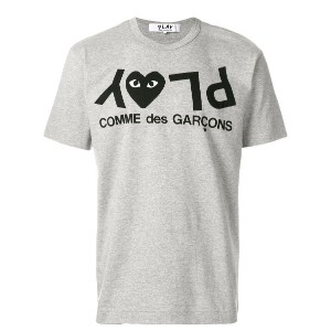 Comme Des Garçons Play Play Tシャツ - グレー