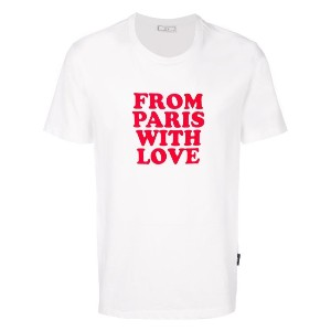 Ami Alexandre Mattiussi FROM PARIS WITH LOVE Tシャツ - ホワイト