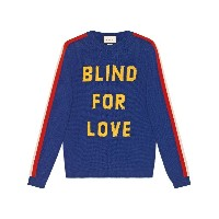 Gucci Blind for Love セーター - ブルー