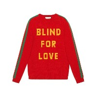 Gucci Blind for Love セーター - レッド
