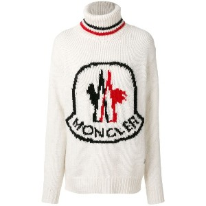 Moncler Gamme Rouge タートルネックセーター - ホワイト