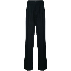 Raf Simons drop-crotch tailored trousers - ブラック