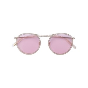 Oliver Peoples MP-3 ラウンドサングラス - メタリック