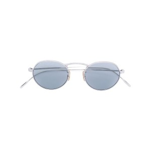 Oliver Peoples M-4 30th スクエア メガネフレーム - メタリック