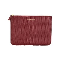 Comme Des Garçons Wallet Luxury Group クラッチバッグ - レッド