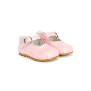 Andanines Shoes エナメルレザー シューズ - ピンク