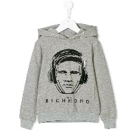 John Richmond Kids Richmond パーカー - グレー