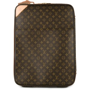 LOUIS VUITTON PRE-OWNED Pegase 55 キャリーバッグ - ブラウン