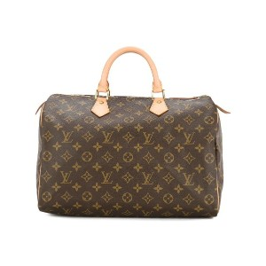LOUIS VUITTON PRE-OWNED Speedy 35 ボストンバッグ - ブラウン
