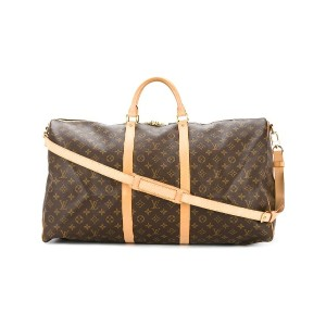 LOUIS VUITTON PRE-OWNED Keepal 60 Bandouliere ボストンバッグ - ブラウン