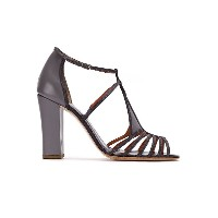 Sarah Chofakian strappy sandals - ピンク&パープル