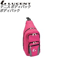 LUCENT(ルーセント) テニス バッグ XLB3431 ボディバッグ ピンク