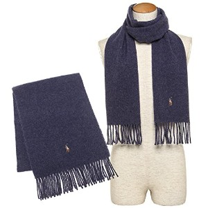 ポロラルフローレン マフラー POLO RALPH LAUREN PC0001 517 SIGNATURE ITALIAN VIRGIN WOOL SCARF 約W30cm×H183cm ウール...