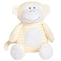 Bella Tunno Wish Monkey Lullaby Poetic Plush, Yellow, Large by Bella Tunno