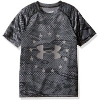 Under Armour Boys '自由Reaper Tech Tシャツ グレー