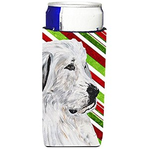 GREAT PYRENEES Candy CaneクリスマスUltra Beverage Insulators forスリム缶sc9810muk