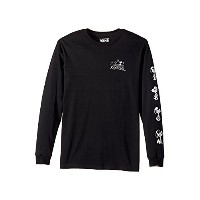 (バンズ) VANS キッズTシャツ By Peanuts Long Sleeve Tee (Big Kids) Black XL XL [並行輸入品]