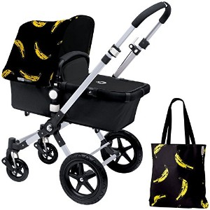 Bugaboo Cameleon3 Accessory Pack - Andy Warhol Banana/Black (Special Edition) by Bugaboo