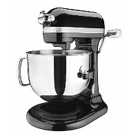 KitchenAid Pro Line Series 7 Qt Bowl Lift Stand Mixer - KSM7586POB - Onyx Black 並行輸入品