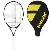Babolat Nadal 26Junior Tennis Racquet–Strung with Cover