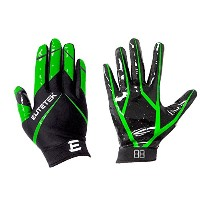 EliteTek rg-14 Football Gloves Youthと大人用