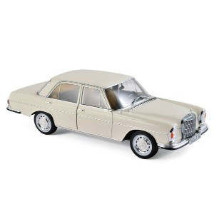 Norev 1:18 1969年モデル メルセデス 280SE アイボリーMERCEDES BENZ - 280SE 1969 1/18 by Norev NEW