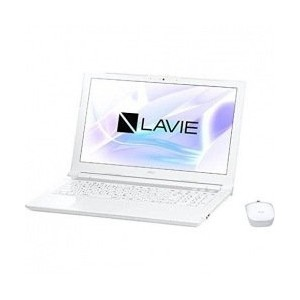 NEC 15.6型 ノートパソコン LAVIE Note Standard NS730/JAWエクストラホワイト(Office Home&Business Premium プラス Office...